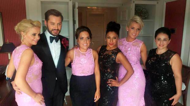 Irish tv presenter Brian Dowling weds long-term love Arthur