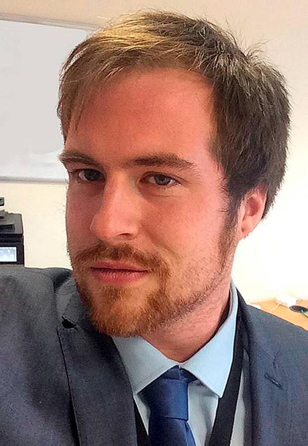 Undated handout photo issued by Isle of Man Constabulary of former Apprentice contestant Stuart Baggs, who has died, a spokesman for his firm confirmed. Isle of Man Constabulary/PA Wire
