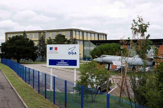 The Direction generale de l'armement (DGA) offices, where the France's BEA crash investigation agency will verify the plane debris found on Reunion Island Credit: Stringer
