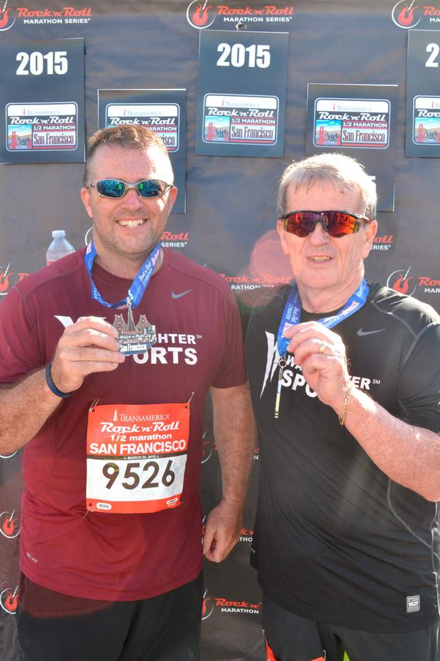 Steve was determined to live a long and healthy life, and set himself a goal of completing a 5k