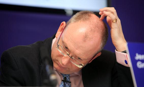 PTSB chief executive Jeremy Masding