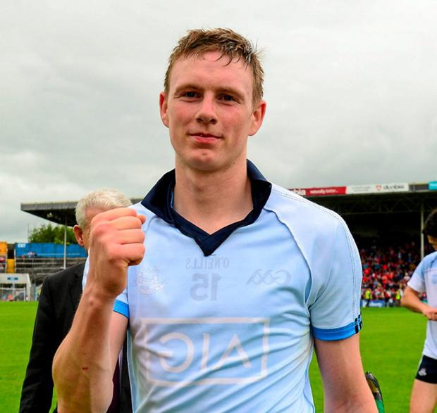 Waterford's Austin Gleeson took charge of things in their match against Dublin