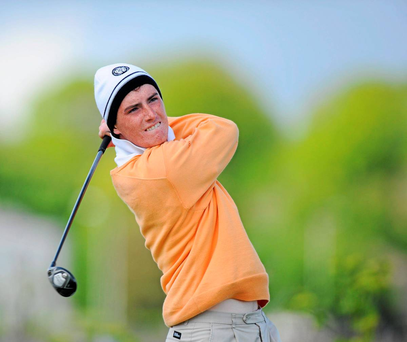 Three of Ireland's Home International team are getting ready to tee it up in the Northern Ireland Challenge at Galgorm Castle, Dermot McElroy (pictured), Colin Fairweather and Colm Campbell
