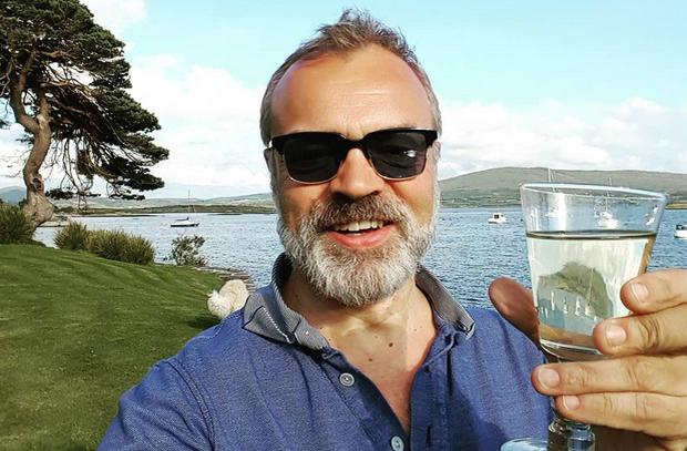 Graham Norton is back home in Ireland