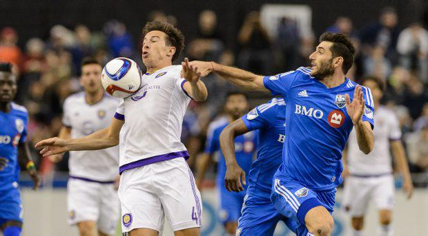 Sean St Ledger in action for Orlando City