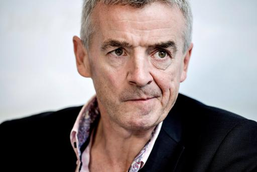 Ryanair's Michael O'Leary has set his sights on the conquest of the air routes over Germany