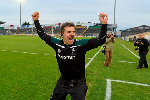 'Jason Ryan steered Kildare to the final round of the qualifiers last year, where they lost in early August to Monaghan after extra-time. Now he has gone a step better'
