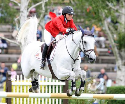Cim Christo ridden by Georgina Bloomberg