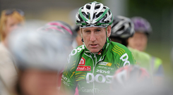 Sean Kelly: 'Well I think with Lance Armstrong, when he started out there was . . . as time went on there was a bit of doubt and that gathered momentum until the end'