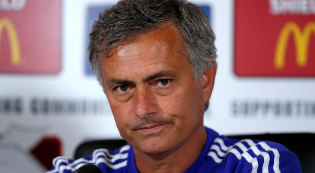 Jose Mourinho may be playing mind games in the run up to Sunday's FA Community Shield