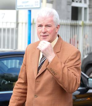FALSE CLAIM: Patrick Laffin has pleaded guilty to fraud