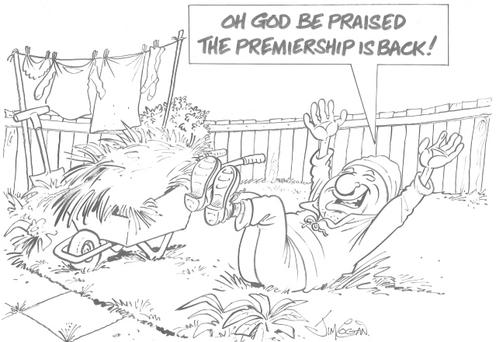 The Premier League is back next week and we give thanks for the end of the hell that is summer