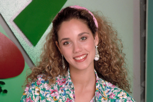 Elizabeth Berkeley as Jessie Spano in Saved by the Bell