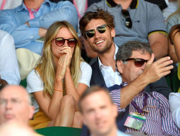 Cressida Bonas attends day eleven of the Wimbledon Tennis Championships at Wimbledon on July 10, 2015 in London, England. (Photo by Karwai Tang/WireImage)