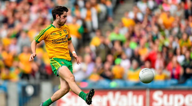 Donegal's Ryan McHugh scores his side's second goal