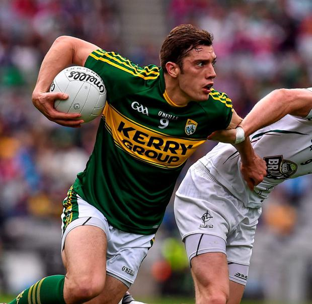 Kerry's David Moran in action