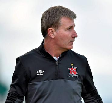 Dundalk manager Stephen Kenny refuses to discuss possibility of a domestic treble