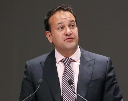 'To the older members of the Fine Gael front bench, Varadkar (pictured) and Coveney are more like edgy young radicals'