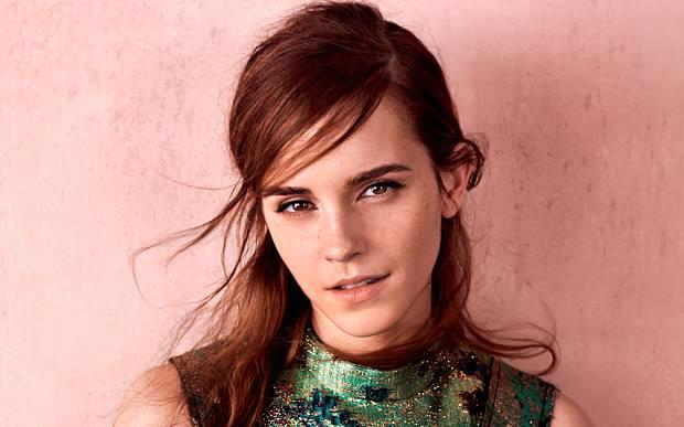 Emma Watson on the cover of Vogue.
