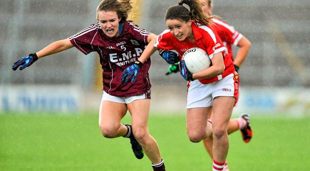Senior star Eimear Scally in action for Cork