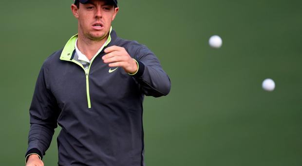McIlroy has not played since rupturing the anterior ligament in his left ankle early last month