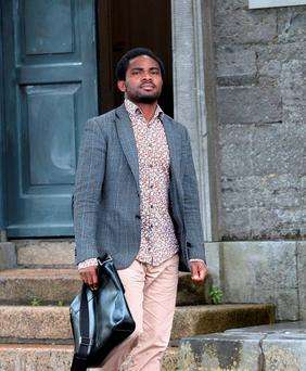 6 Jul 2015; Moses Luke (39, of Barnshall Lodge, Balbriggan - drink driving) leaving Swords District Court, Swords, Dublin