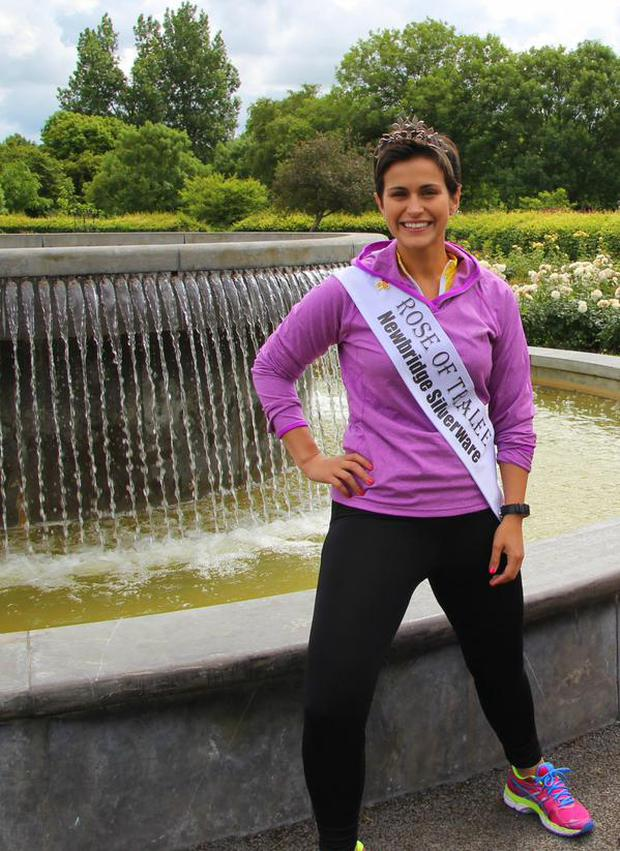 Rose of Tralee Maria Walsh will end her reign with a charity run and cycle.