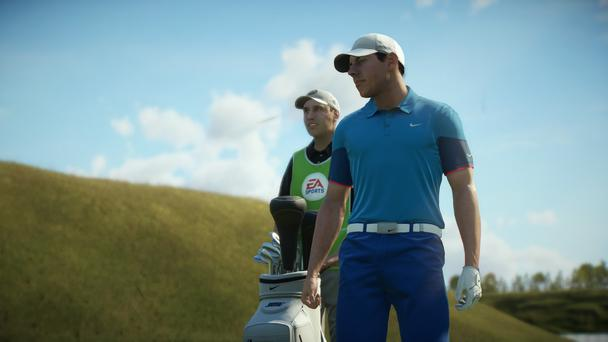 Rory McIlroy PGA Tour: the visual resemblance to the real players spans the gamut from uncanny to completely off
