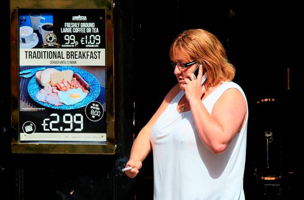 Christine Bicknell, the grandmother of murdered schoolgirl Tia Sharp, outside a pub near Croydon Magistrate's Court, Croydon, where she appeared charged with racially aggravated offences. PRESS ASSOCIATION Photo. Picture date: Tuesday August 4, 2015. See PA story COURTS Sharp. Photo credit should read: Jonathan Brady/PA Wire