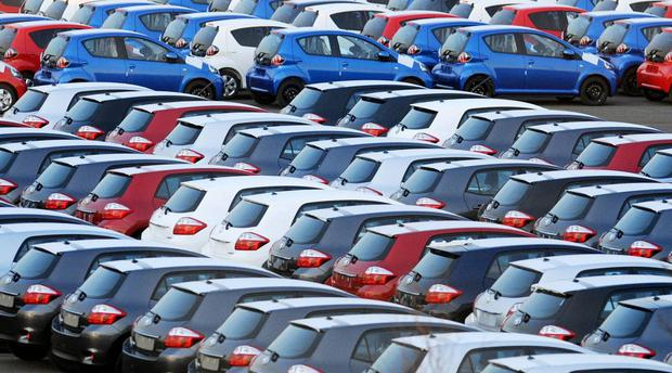 New-car registrations soared by 9,000 (48pc) to 27,633 last month
