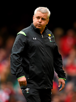 Wales coach Warren Gatland has a worrying injury list