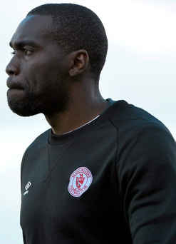 Joseph Ndo (pictured) and Gavin Dykes had been managing Sligo Rovers in a caretaker capacity