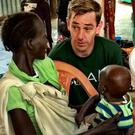 Ryan Tubridy in Ethiopia