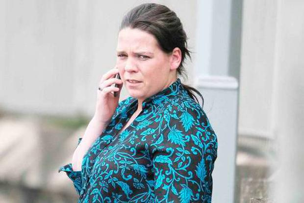 Aleshia McLaverty (23) admited a charge of cruelty after the starved maggot-infested pet, which was so thirsty it drank a household toilet bowl dry, was discovered by shocked animal welfare officers at a flat registered to her in the Greystone estate in Antrim. Pic: Belfast Telegraph