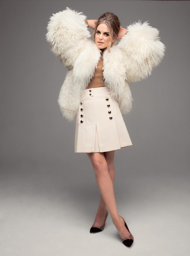 Amy Huberman in Tatler magazine shoot
