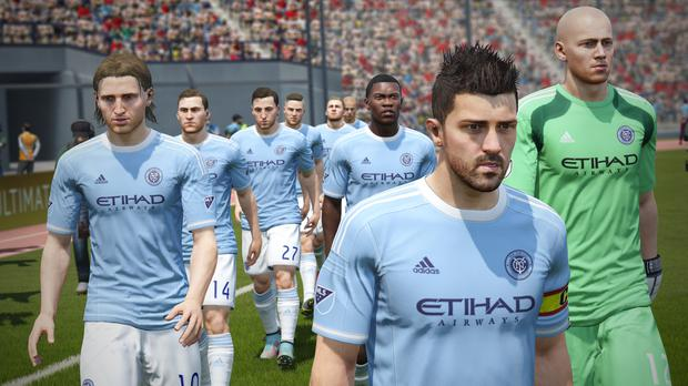FIFA 16 - They also have the soccer in America now