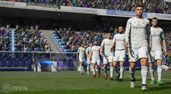 FIFA 16 - Real Madrid walkout