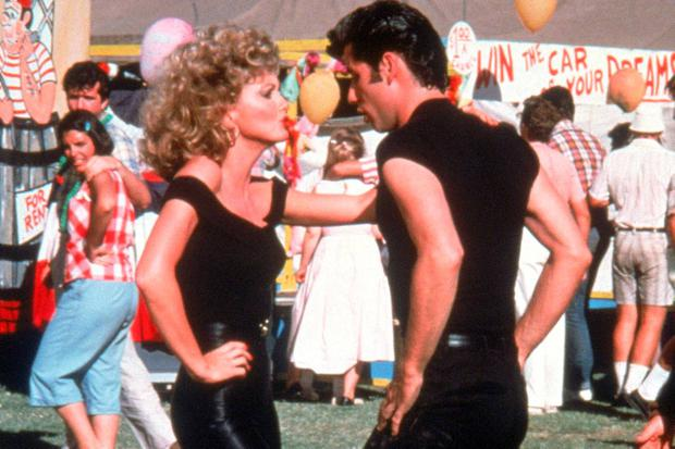 John Travolta and Olivia Newton John in Grease (1978)