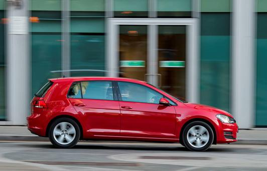 The Volkswagen Golf is Ireland's best selling car this year