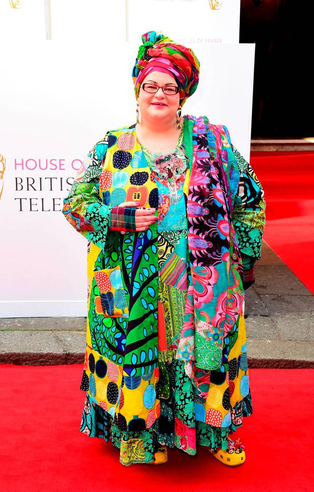 RETRANSMITTED CLARIFYING THAT THE CHARITY KIDS COMPANY IS BEING INVESTIGATED AND NOT MS BATMANGHELIDJH File photo dated 10/5/2015 of Camila Batmanghelidjh, who said her Kids Company charity would co-operate fully with detectives after Scotland Yard said it was looking into