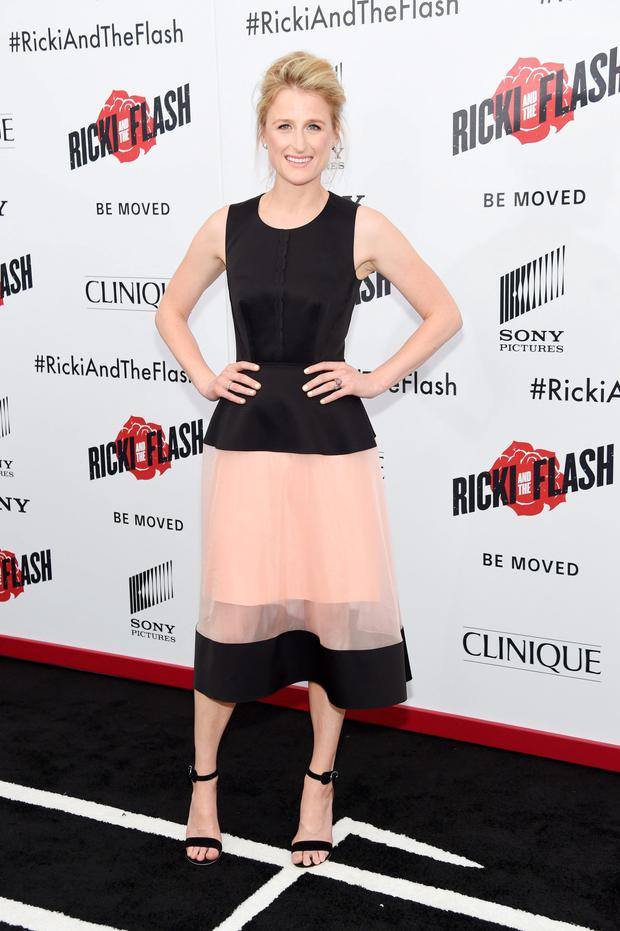 Actress Mamie Gummer attends the New York premier of