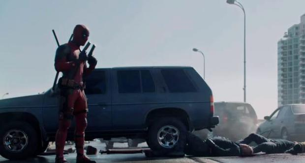 A scene from Deadpool