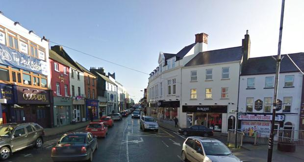 The two young men are reported to have been picked up here on Church Street, Athlone (Photo: Google Maps)