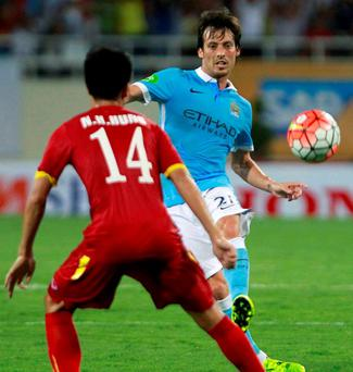 David Silva will be a key part of Manchester City's team as they bid to win the Premier League