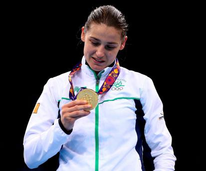 Andy Lee says he is disappointed that Olympic gold medallist Katie Taylor won't be on the bill next month