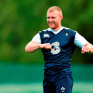 Ireland's Keith Earls during squad training