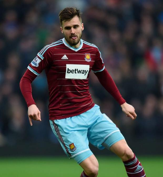 Carl Jenkinson of West Ham