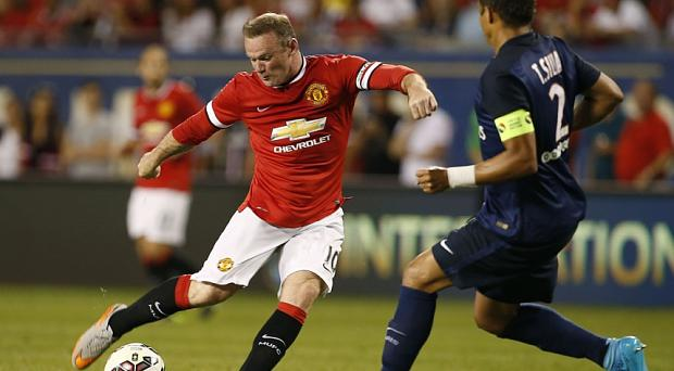Wayne Rooney's Manchester United must win a two-legged play-off to make the Champions League group stage
