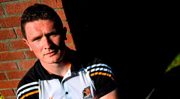 Kilkenny's Paul Murphy poses for a portrait after a press conference. Langton's Hotel, Kilkenny. Picture credit: Brendan Moran / SPORTSFILE