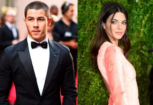 Nick Jonas (left) and Kendall Jenner (right)